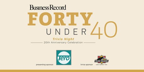 Trivia Night - Forty Under 40 20th Anniversary tickets