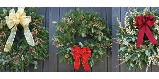 Make your own Holiday Wreath!