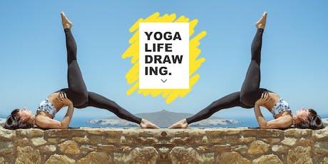 Yoga Life Drawing tickets