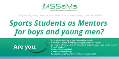 Sports Students as Mentors for boys and young men?