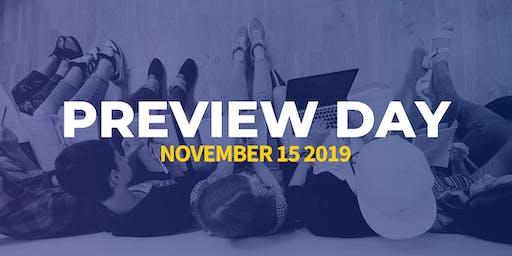 Apprentice University November Preview Day