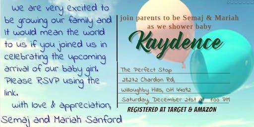 Copy of Baby Shower for Kaydence Olivia Raye Sanford