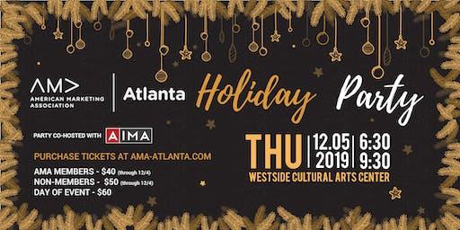 AMA Atlanta and AIMA 2019 Holiday Party