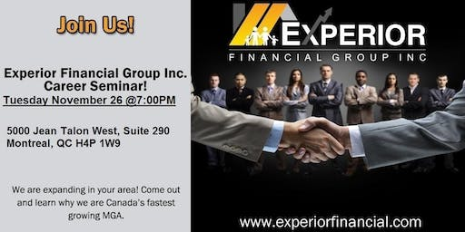 Come meet Experior's CEO Jamie Prickett - in Montreal