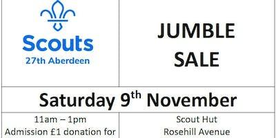 Scout Jumble Sale