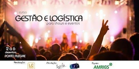 Curso de Gestão e Logística para Shows e Eventos  ingressos