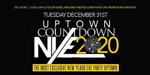 Uptown Countdown 2020 NYE Party