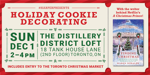 HarperPresents: Holiday Cookie Decorating at the Toronto Christmas Market