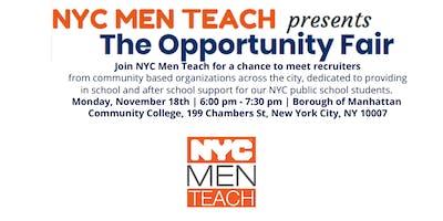 NYC MEN TEACH Opportunity Fair