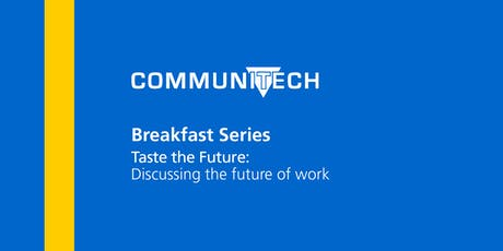 Communitech Breakfast Series: Taste the Future tickets