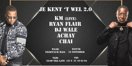 Je kent 't wel 2.0 | KM (LIVE) | 16 Nov tickets