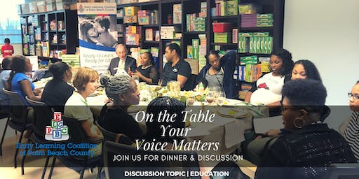 On The Table | Your Voice Matters -- Palm Springs, Florida