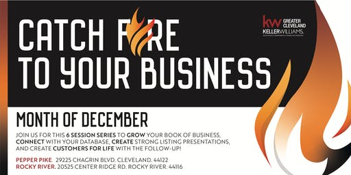 Catch FIRE to your business!