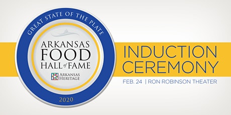 2020 Arkansas Food Hall of Fame Induction Ceremony tickets