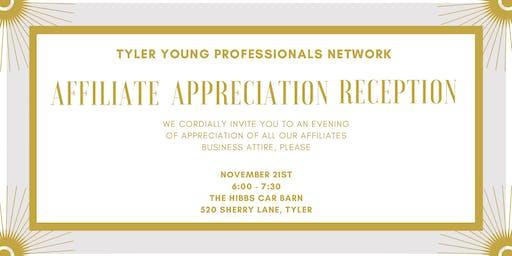 TYPN Affiliate Appreciation Reception