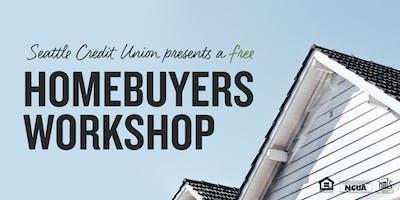 Homebuyers Workshop - Lynnwood Library