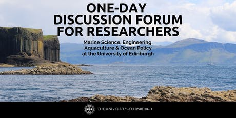 Discussion Forum: Marine Science, Engineering, Aquaculture & Ocean Policy tickets