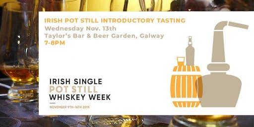 Irish Pot Still Whiskey (Introductory Tasting)