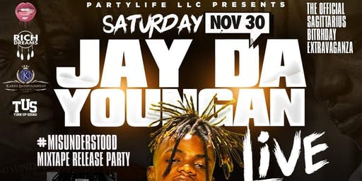 "SAT NOV 30TH | #JAYDAYOUNGAN LIVE ""OFFICIAL MIXTAPE RELEASE @ BLIND TIGER !"