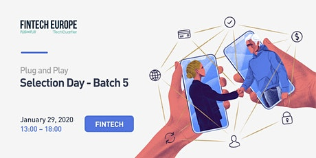 Fintech Europe Selection Day 5 tickets
