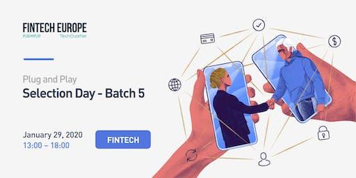 Fintech Europe Selection Day 5