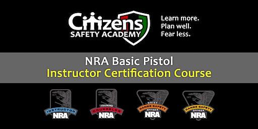 NRA Pistol Instructor Certification Course (Memphis)