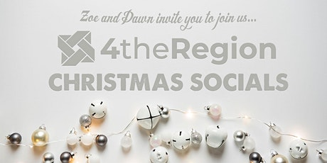 4theRegion Christmas Social in Swansea tickets