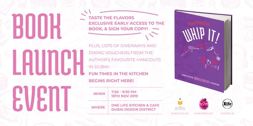 Whip it! - Book Launch Event