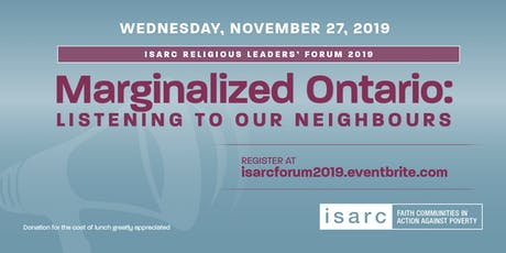 ISARC Religious Leaders' Forum 2019 tickets