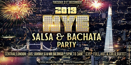NYE SALSA AND BACHATA PARTY tickets