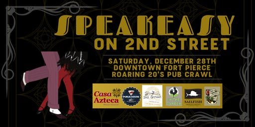 Speakeasy on 2nd St Pub Crawl