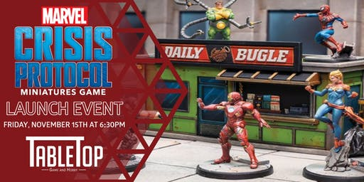 Marvel Crisis Protocol Launch Event