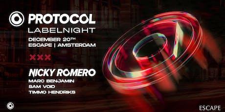 Nicky Romero presents Protocol Labelnight tickets