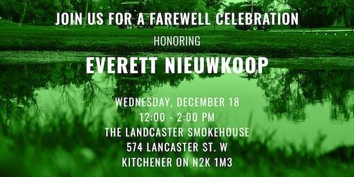Everett Nieuwkoop Farewell Luncheon