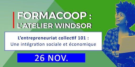 FormaCoop L'entrepreneuriat collectif: l'intégration sociale et économique