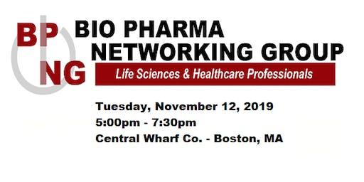 MA Bio Pharma Networking Group: November 2019 at Central Wharf Co.