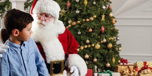 2019 Sensory-Friendly Santa at Westfield Trumbull