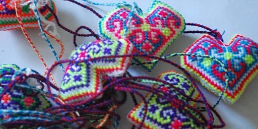Hmong Cross-stitch and Embroidery with Chue Thao