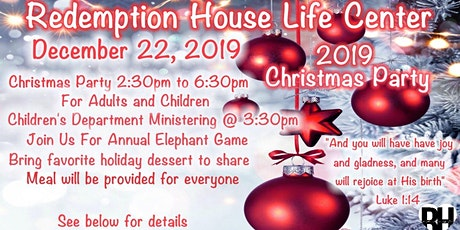 2019 Annual Christmas Party tickets