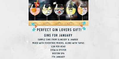 Gins for January
