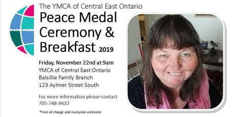 YMCA Peace Medal Ceremony and Breakfast tickets