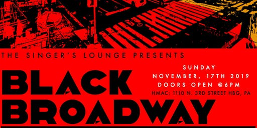 The Singer's Lounge Presents: Black Broadway