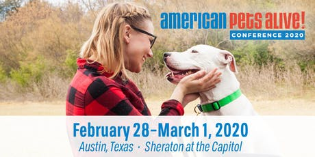 The American Pets Alive! Conference 2020 tickets
