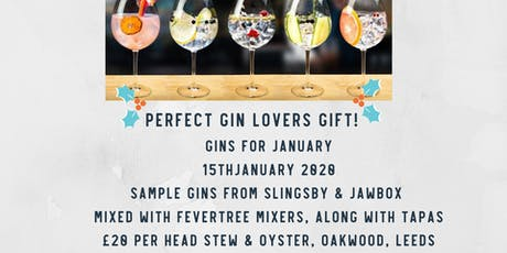 Gins for January tickets