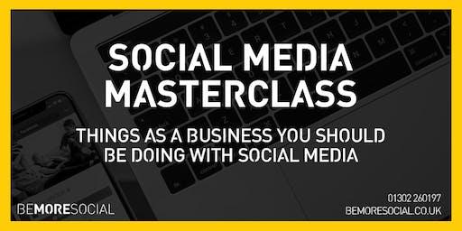 Be More Social - Social Media Masterclass - LEEDS