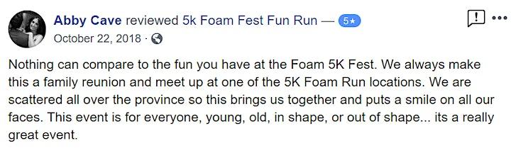 The 5K Foam Fest  - Vancouver, BC 2021 image