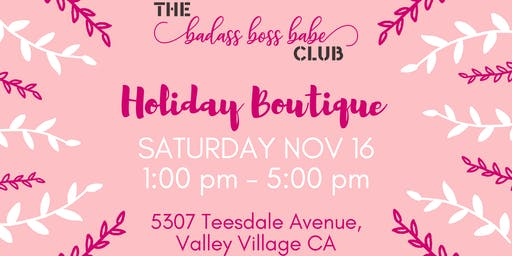 B3 Club Holiday Boutique