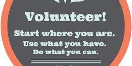 Volunteer Training tickets