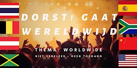 Dorst gaat wereldwijd tickets