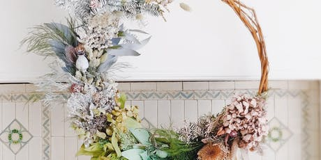 Make a sustainable festive wreath with Hazel Gardiner at SAMPLE Christmas tickets